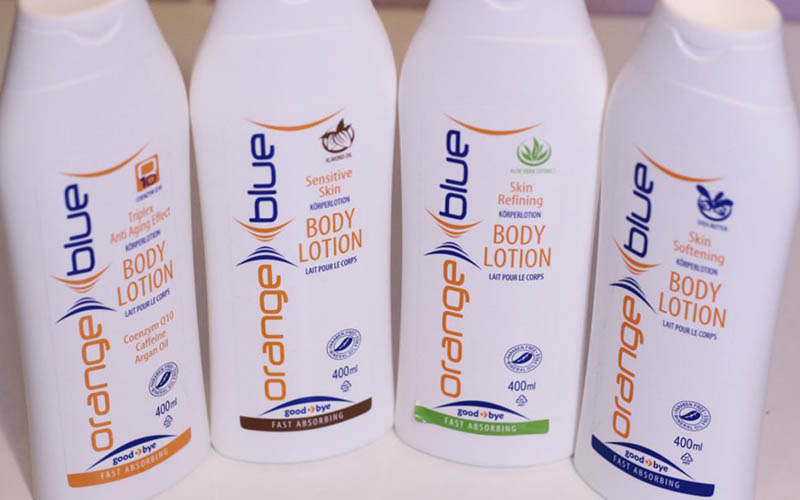 velvety soft skin with bodylotions from orangeblue