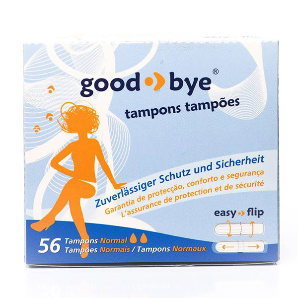 good-bye Tampon normal - feel confident, safe, and beautiful!