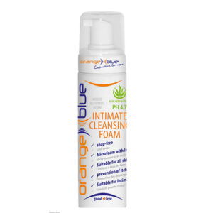 orangeblue Intimate cleansing foam with aloe vera for daily intimate care