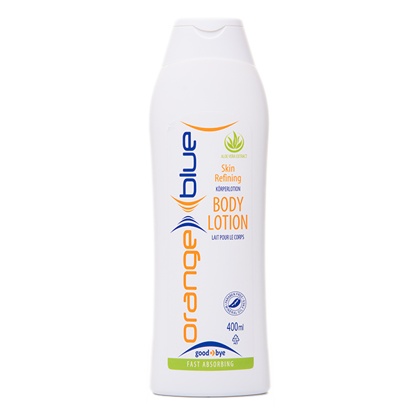 orangeblue skin refining pH-neutral, fast-absorbing body lotion with Aloe Vera