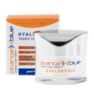 orangeblue moisturizing anti-wrinkle day cream with hyaluronic acid for a silky skin feeling